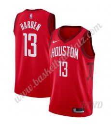 Houston Rockets Trikot Kinder 2019-20 James Harden 13# Rot Earned Edition NBA Trikots Swingman..